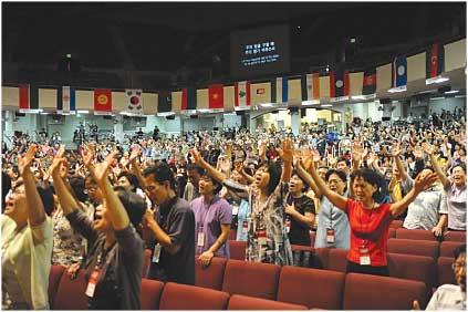 베이지역교계 8월들어대규모선교대회